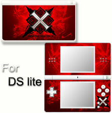 Monster Hunter X Generations Red Edition Skin Sticker Cover for Nintendo DS Lite