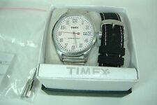 New Mens Timex Originals Retro Expansion Band GIFT SET Watch T2N311 $120 Womens