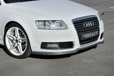 RIEGER Spoilerlippe Audi A6 4F ab Facelift  ABS-Carbon-Look / RIEGER-Tuning