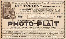 Y8843 PHOTO-PLAIT - Voltex automatique - Pubblicità d'epoca - 1933 Old advert