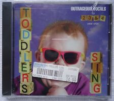 Toddlers Sing by Music for Little People Choir (CD, Oct-1998, Rhino (Label) NEW