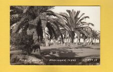 RPPC Harlingen,TX Texas, Palm Shadows pub L.L.Cook #37438