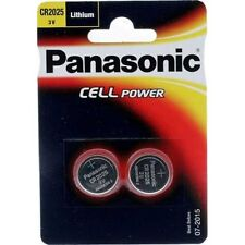 PANASONIC CR2025 / DL2025 3V Lithium Battery Pack of 2
