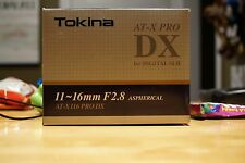 Tokina AT-X PRO 11-16mm f/2.8 SD MF DX IF AF Lens For For Sony Alpha Mount MINT