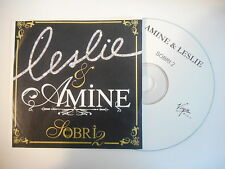 LESLIE & AMINE : SOBRI [ CD SINGLE PORT GRATUIT ]