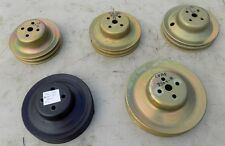 FORD 260 289 302 390 428 WATER PUMP PULLEY 2 groove  Pick 1 From Group Plated