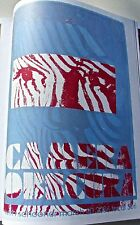 Camera Obscura Mini Concert Poster Reprint for Carboro NC 2006-14x10