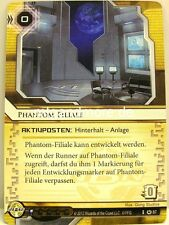 Android Netrunner LCG - 2x Phantom-filiale #087 - Base Set tedesco