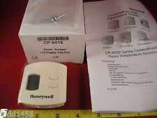 Honeywell CP-6016 Room Temperature Sensor LCD Display Data Port CP-6000 Series