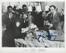 BURT YOUNG Signed 10x8 Photo ROCKY & ACROSS 110TH STREET COA