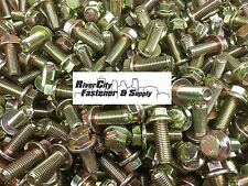 (25) M10-1.25 x 25 or M10x25 10mm x 25mm J.I.S. Small Head Hex Flange Bolt 10.9