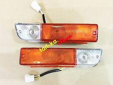 Front Turn Signal Lights Lamp For Datsun Nissan Sunny 1200 B110 KB110 B210 120Y