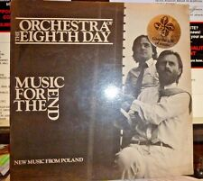 """ORCHESTRA OF THE EIGHTH DAY """"Music For The End"""" LP NEW / SS Prog Rock 1982"""