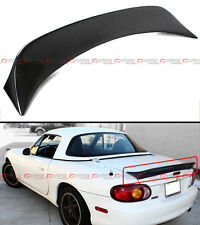 For 1999-05 Mazda Miata NB 2nd Gen Carbon Fiber Extended Big Trunk Spoiler Wing