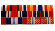 Israeli Army Combined Six Wars Ribbon Protective Edge (2014) -The Six-Day (1967)