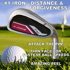 #1 PFORCE P32 ROCKET HOT FACE HIGH LAUNCH+ Hi MOI DISTANCE (8) IRON HEAD SET