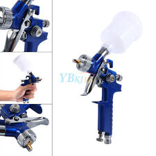 1x Car Mini Air Paint Spray Gun 0.8mm HVLP Pneumatic Nozzle Gravity Feed Kit BT