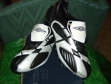 Umbro Soccer X-600 Black White Silver 12.0