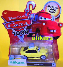 T - NURSE GTO - #2 Disney Cars Toon autos Rescue Squad Mater Toons Tall Tales