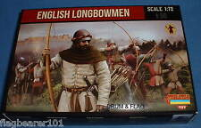 STRELETS SET M 117. ENGLISH LONGBOWMEN. 1/72 SCALE.