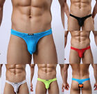 New Men's T-Back Bikini Brief Sexy Pouch Thongs G-string Underwear M L XL