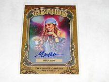 2011 Gypsy Queen MIRELA On Card Autograph #GQ13 Super Short Print Hard to Find