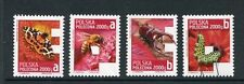 Poland 2013 Registration Stamp Set F9-12, F12, Butterfly, Insects