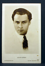 Louis Lerch - Actor Movie Photo - Foto Autogramm-Karte AK (Lot-Z-1946)