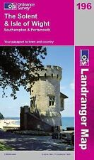 THE SOLENT AND ISLE OF WIGHT / ORDNANCE SURVEY MAP 9780319231425