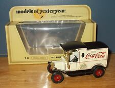 Matchbox Yesteryear Y12 Modelo T Ford Van Coca Cola 75th aniversario