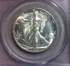 1941-D Walking Liberty Silver Half Dollar ~ PCGS MS 65