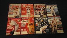 (8) Different Major League Baseball MLB Sports Illustrated SI Issues Previews