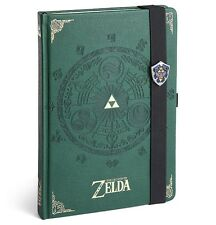 Nintendo The Legend of Zelda Premium Journal NEW Notepad Sketch Book Blank Pages