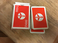 Swiss Air  Deck of Playing Cards, Red pack