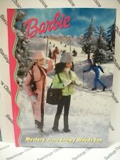 Barbie & Friends Book Club: Mystery at the Snowy Woods Inn - New