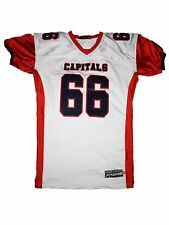 Men AGame Team Apparel Capitals High School Football Jersey Size XL #66