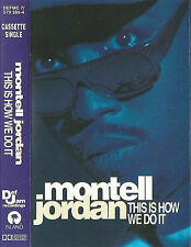 Montell Jordan ‎This Is How We Do It CASSETTE SINGLE Electronic HipHop RnB/Swing
