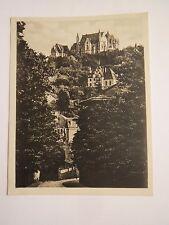 Marburg an der Lahn - Blick auf Schloß mit Corpshaus Corps Teutonia / Foto