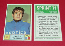 N°80 CYRILLE GUIMARD FRANCE PANINI SPRINT 71 CYCLISME 1971 WIELRIJDER CICLISMO