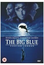 THE BIG BLUE DVD VERSION LONGUE JEAN RENO CULT ACTION LUC BESSON