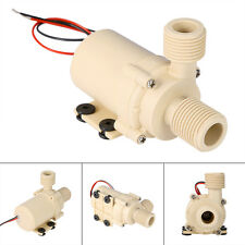 Safety Ultra Quiet 12V DC Solar Systems Motor Water Circulation Pump Submersible