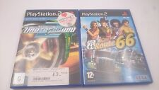 NEED FOR SPEED 2 + KING OF ROUTE 66 SONY PLAYSTATION PS2 PAL.ENVIOS COMBINADOS