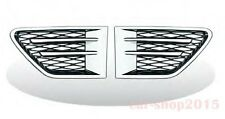 Side Grille Side Vent Fender RANGE ROVER Sport L320 10-13 Chrome & Black