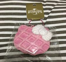 RARE USJ Hello Kitty waffle sweets Squishy mascot