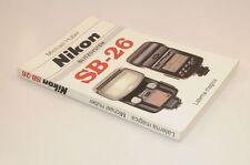 Huber Das Buch zum Nikon SB-26 leicht gebrauchter Zustand