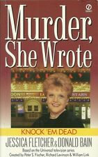 Knock 'Em Dead 12 by Donald Bain and Jessica Fletcher (1999, Paperback)