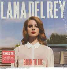 NEW - Lana Del Rey CD NEW Born To Die Blue 602527930879 BRAND NEW