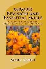 MPM2D Revision Guide : Grade 10 Acaademic Mathematics in Ontario by Mark...