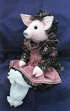 Isabel The Pig - Wood & Soft Sculptured Cloth Animal UNCUT Craft Sewing Pattern