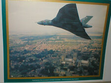 Avro VULCAN '575of 44 Sqn RAF Waddington.over LINCOLN CATHEDRAL. 14x12